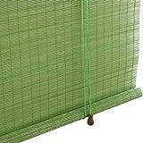 GR5AS Bambou Shade Décoration Partition Rideau Sunscreen Salon Filtre la lumière...