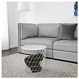 IKEA 303.494.52 Kvistbro - Mesa de Almacenamiento, Color Blanco