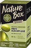 Nature Box Revitalisierende Feste Duschpflege mit Oliven-Öl, 100 ml