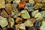 Fantasia Materiales: 450 Gramos de Piedra Lunar Transparente áspera – Cristales Naturales crudos para cabbing, Corte, lapidario, pulir, Envoltura de Alambre, Wicca y Reiki Healing