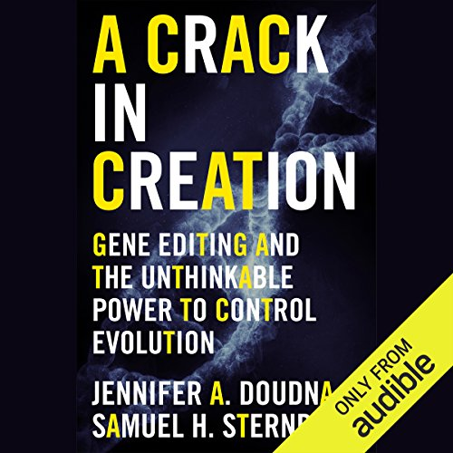 A Crack in Creation audiobook cover art