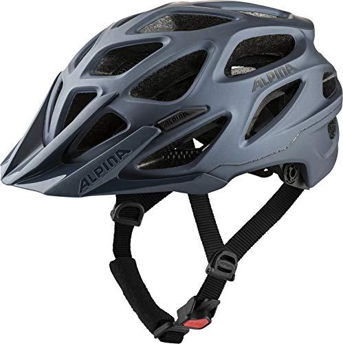 Alpina Unisex– Erwachsene Mythos 3.0 LE Fahrradhelm, Indigo matt, 57-62 cm