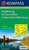 KOMPASS Wanderkarte Magdeburg - Dessau - Roßlau - Lutherstadt Wittenberg: Wanderkarte mit Radrouten. GPS-genau. 1:50000 (KOMPASS-Wanderkarten, Band 456)