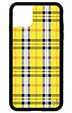 Wildflower Limited Edition Cases for iPhone 11 Pro Max (Yellow Plaid)
