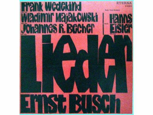 Lieder Ernst Busch [Vinyl LP record] [Schallplatte]