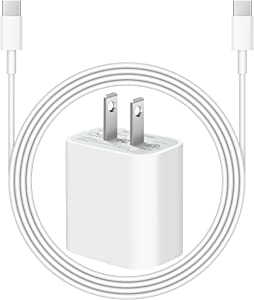 iPad Pro Charger, 20W USB-C Fast Charger for iPad Pro 11