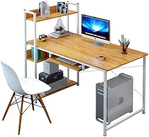 xinrongqu Computer Schreibtisch einfacher Schreibtisch  nfacher Bücherregal Kombination Schreibtisch A