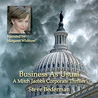 Business As Usual audiobook cover art