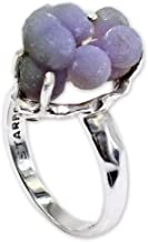 Grape Chalcedony Ring by Stones Desire