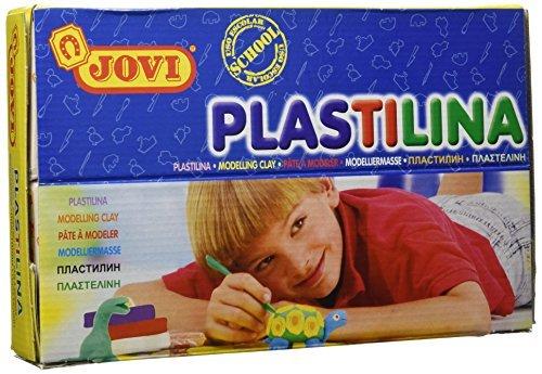 CAJA 30 TACOS PLASTILINA 70S PEQUEÑA SURTIDO JOVI by JOVI® PLASTILINA