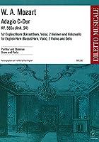 モーツァルト : アダージョ ハ長調 KV580a (イングリッシュホルン、弦楽三重奏) ドブリンガー出版