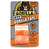 "Gorilla Crystal Duct Tape, 1.88"" x 5 yd, Clear, (Pack of 1)"