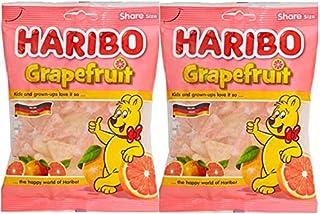 ハリボー グミ各種2袋セット (グレープフルーツ 200g×2)