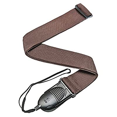 Brown Nylon Quick Release Acoustic Guitar Strap
