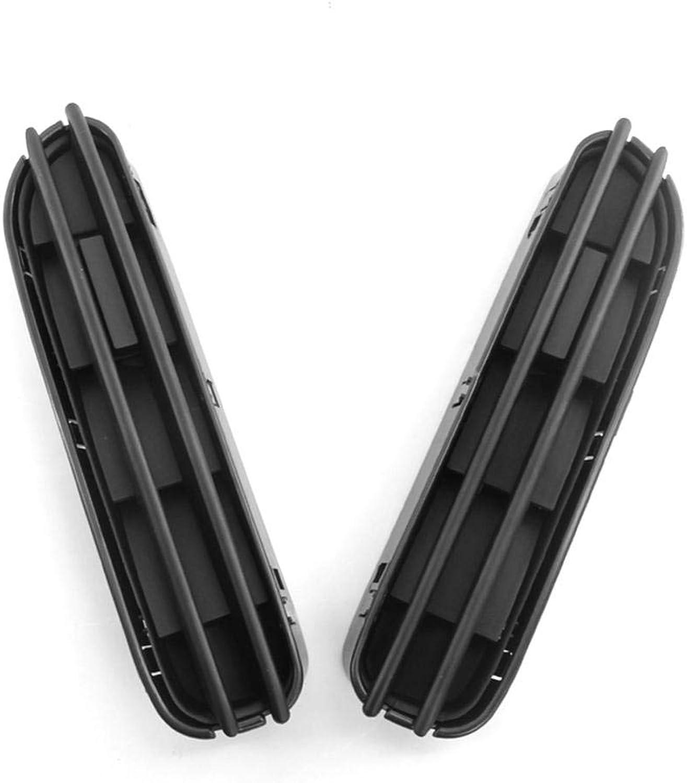 1 Pair for BMW 5 Series M5 530i Side Fender Air Flow Fender Shark Gills Side Vents Decorative Sticker Vents Grille Grill Black