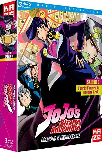 ジョジョの奇妙な冒険 3rd Season ダイヤモンドは砕けない Blu-ray BOX 1/2 [Blu-ray リージョンB](輸入版)