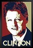 Poster Gießerei Präsident William Jefferson Bill Clinton