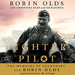 Fighter Pilot audiobook cover art