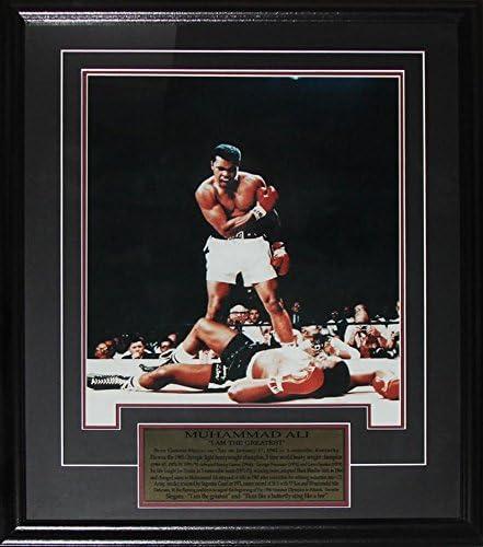 Muhammad Ali I Am The Greatest 16x20 Boxing Memorabilia Collector Frame product image
