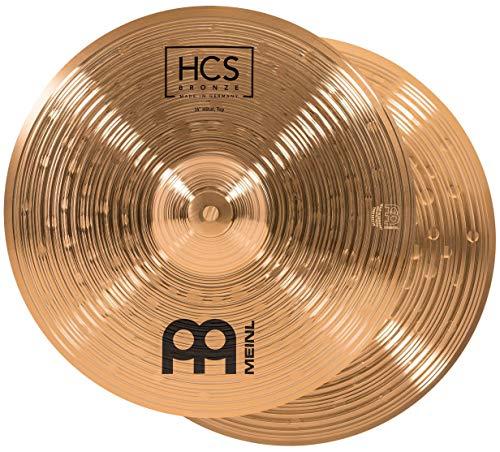 "MEINL Cymbals マイネル HCS Bronze Series ハイハットシンバル 14"" Hihat ペア HCSB14H 【国内正規品】"