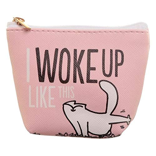 Kleine portemonnee Simon's Cat - Woke up-