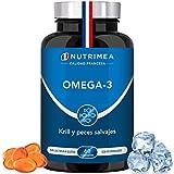 Omega 3 Aceite de Pescado Krill 1000 mg 4 Veces Potente DHA EPA Acidos Grasos Omega3 Capsulas...