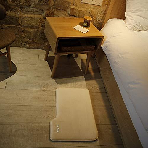 Smart Druckempfindliche Wecker Teppich Elektronische Digitaluhr Schlafzimmer Anti-Rutsch-Weiß Weiche Matte Uhr Student Lazy Alarm