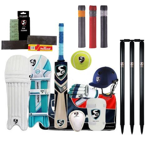 SG Cricket Kit with Accessories Senior Size (with Express Shipping)
