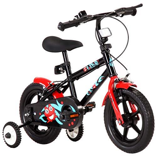 Bicicleta con Pedales 12 Pulgadas, Bicicleta de Equilibrio para Niños de 2-4 Años