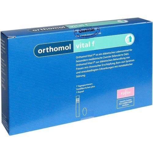 ORTHOMOL Vital F Trinkflaeschen, 7 St