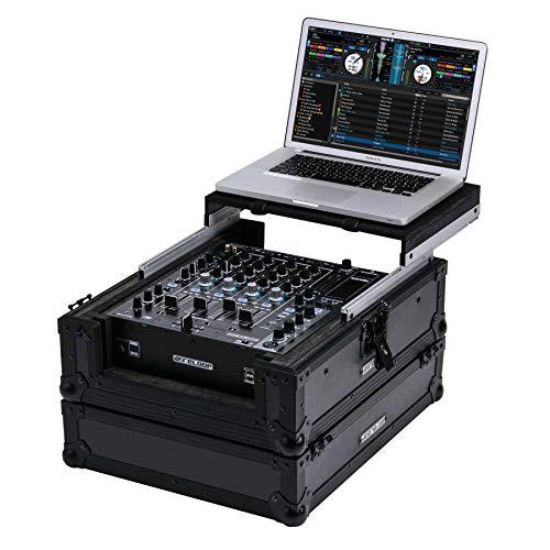 Reloop Premium Club Mixer Case MK2, handgefertigt aus robustem Holz und Aluminium, hochwertiges Case zum Transport von professionellen DJ Mischpulten und Equipment