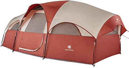 HIKERGARDEN 8-Person Tent - Quick & Easy Setup Camping...