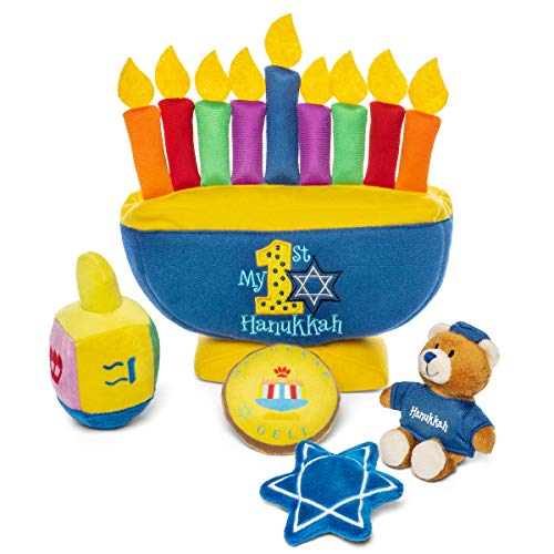 Baby's My First Hanukkah Toy Playset and Keepsake Gift