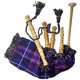 Cornamusa funzionante per bambini, include 2 ance e borsa, Orgoglio della Scozia