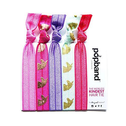 Popband Licorne - Paquet de 5 Élastiques à Cheveux Popbands