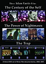 Adam Curtis Trilogy: Power of Nightmares, Century of Self, The Trap [3-DVD set in Amaray Case]