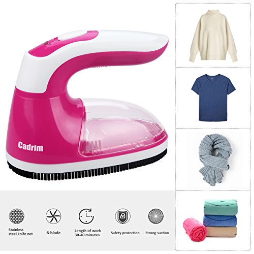 Cadrim Electric Lint Remover Clothes Bobble Remover Fabric Shaver with...