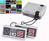 DigitCont Plug & Play Classic Mini 2ND Gen Consola incorporada, con 621 Juegos Retro clásicos para...