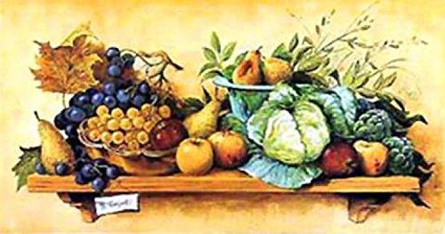 1art1 Cucina - Natura Morta II Stampa d'Arte (100 x 50cm)