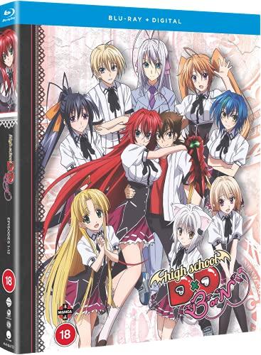 High School DxD BorN (Season 3) Blu-ray + Free Digital Copy [Reino Unido] [Blu-ray]