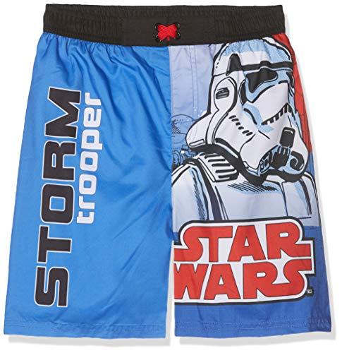 Star Wars Jungen 5544 Boxershorts, Blau (Bleu Bleu), 12 Jahre