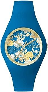 [アイスウォッチ]ICE-WATCH メンズ レディース ICE-FLOWER アイスフラワー 40ミリ 花柄 ミスティック ブルー ICE.FL.MYS.U.S.15 腕時計 [並行輸入品]