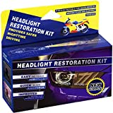 Best Headlight Lens Cleaners - Plextone Headlights Restoration Kit Restore Dull Faded Review