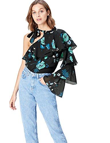 Marca Amazon - find. Blusa Estampada para Mujer