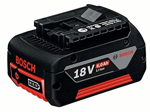 Bosch Home and Garden 1600A004ZN Bosch 1600A004ZN-Batería 6,0 Ah. Sistema CoolPack. 0,620 Kg con Caja de cartón, 18 V