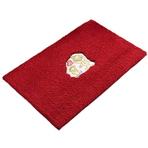 Best Deals! Bathroom Rugs and Mats Sets Bath mats antiscivolo Absorbent Floor Mat Carpet Rug for Bat...