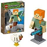 LEGO Minecraft - Maxi-figure Minecraft di Alex con gallina, 21149