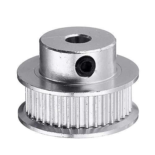 WY-YAN 8mm 36 Zähne Bore Aluminium Zahnriemenscheibe for 6mm GT2 Riemen 3D-Drucker Teil