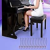 Ruining Resortes de Piano, resortes de Pianos Verticales, Repuesto de Acero Dorado, Piezas de reparación de Pianos antioxidantes, reparación de Accesorios de Piano para Piano Vertical