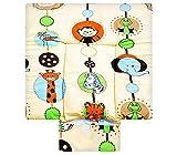 Best For Kids BESONDERE KUSCHELWEICHE Wickelauflage mit TÜV 100% Baumwolle Wickeltischauflage 3 in 1 in 3 Größe 70x85 mit Öko Tex Standart